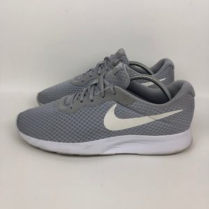 Nike Tanjun Wolf Grey White Running Shoe